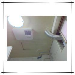 6-1-6-1窗戶施工隔板+風管明管外露